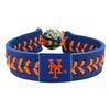 New York Mets Team Color Baseball Bracelet