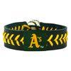 Oakland Athletics Team Color Baseball Bracelet