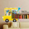 Kids D.I.Y Sticker-캐릭터월드-신나는자동차여행