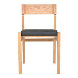CHAIR N-L (가죽시트 의자)