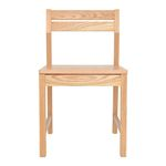CHAIR R-W (나무시트 의자)