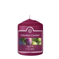[COLONIAL CANDLE 콜로니얼 캔들2108] 보티브 캔들 1.7oz 무화과 토르테