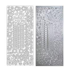 라인스티커 Silver-2335