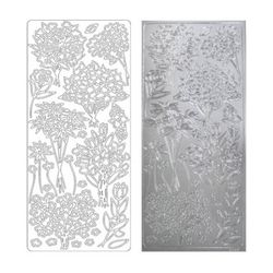 라인스티커 Silver-2499