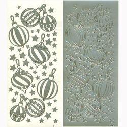 라인스티커 Silver-0146