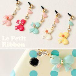 Le Petit RibbonEarcap 르쁘띠 리본 이어캡 (5color)