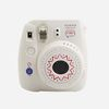 instax x SML  mini8 camera - white