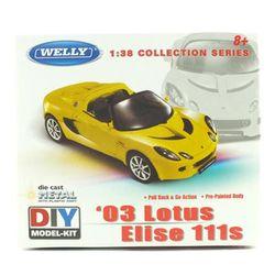 로터스 엘리제 111s (풀백주행) - 조립킷 (WE233556YE) 금속조립모형