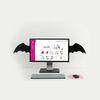 rabito Post-Wall Bat wings