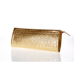 bpb 13 ss keyboard mini clutch-gold