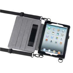 MAXTEK 안전적이고 편안한 작업을위한 스탠드형 숄더-핸드벨트 iPad 케이스