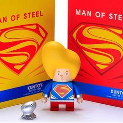 kuntoy figure-MAN OF STEEL(노랑머리)
