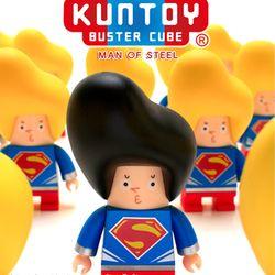 kuntoy figure-MAN OF STEEL(검정머리)