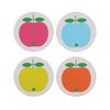 Coasters 컵받침 4pcs SET (Apples)
