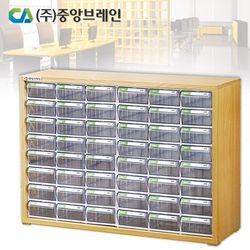 [(주)중앙브레인] 중앙브레인 멀티우드세트 CA1100   (서류함/부품함/공구함/소품함)