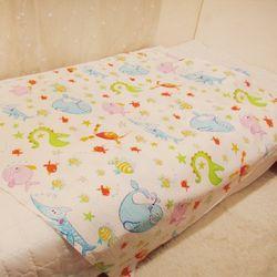 [포그니] 해피드림 유아동용 리플 여름3종 이불패드세트