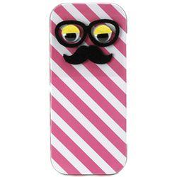 큐리아 쿄로눈 철제필통-핑크줄무늬
