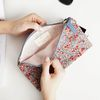 Liberty Zipper Pouch - M 5color