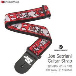 플래닛웨이브 기타스트랩 joe satriani 50JS02 (up in flames)