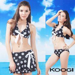 쿠기 3피스 비키니 수영복 KF-G186