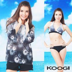 쿠기 4피스 비키니 수영복 KF-G192