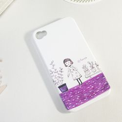 아이폰4 & 4S 케이스 - 화분