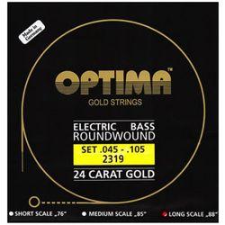 옵티마 Optima 24 K Gold Bass Guitar Strings 베이스기타스트링 골드스트링 2319 (045-105)