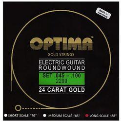 옵티마 Optima 24 K Gold Bass Guitar Strings 베이스기타스트링 골드스트링 2299 (045-100)