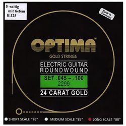 옵티마 Optima 24 K Gold Bass Guitar Strings 베이스기타스트링 골드스트링 2299B (045-125)
