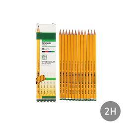 Pencils(일반용) 12pcs 2005 2H4 set