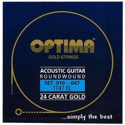 옵티마 Optima 어쿠스틱기타스트링 골드스트링 라운드와운드 1747EL