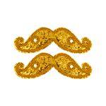 Mustache_GOLD SPARKLE_11712