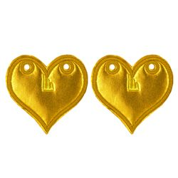 Sunset_GOLD FOIL_HEART_12104