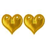 Sunset_GOLD FOIL_HEART_12104