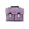 [bakker] Canvas & Leather Satchel_S_purple