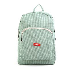 [bakker] Canvas Backpack_L_green peace