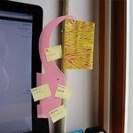 [모니터 메모보드] elephant memo board