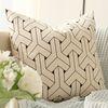 Geometric cushion Type1 ivory