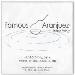 아랑훼즈 우쿠렐레스트링 Clear string set