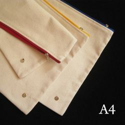 A4 canvas pouch (2 looks)