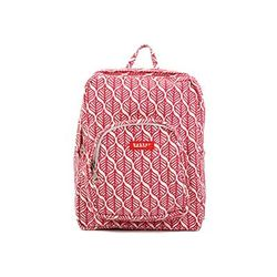 [bakker] Canvas Backpack_S(kids)_red leaves