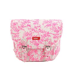 [bakker] Canvas Hobo Bag_jouy neon pink_Kids