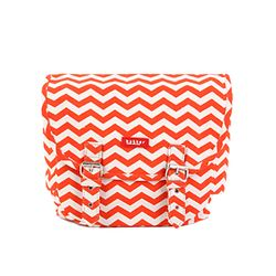 [bakker] Canvas Hobo Bag_orange waves_Kids