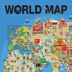 GO GLOBAL  World Map