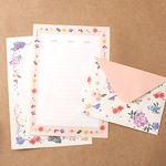 Floral Letter Set  꽃다발