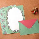 Floral Letter Set  홀리