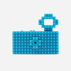 FUUVI NANOBLOCK TOY CAMERA 블루