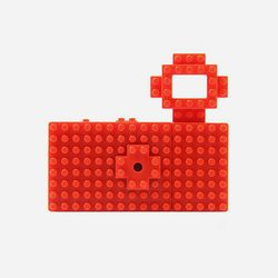 FUUVI NANOBLOCK TOY CAMERA 레드