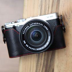 Fujifilm X-M1 속사케이스 - 블랙레드 (후지필름 X-M1 전용)
