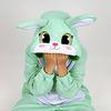 (사계절용)동물잠옷-프리티 민트토끼